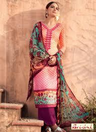 digital print work cotton silk multi colour designer suit