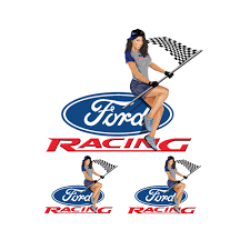100 Ford Stickers For Trucks Lethal Threat Racing Mustang Girl Decal Sticker Car Truck SUV Bike 6x8