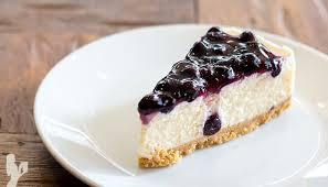 Frozen Blueberry Dairy Free Cheesecake Recipe
