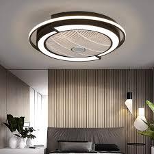 deckenventilator mit beleuchtung 3 stufiger fan deckenleuchte leise dimmbar einstellbare windgeschwindigkeit deckenle für schlafzimmer wohnzimmer
