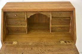 oak writing bureau uk small writing bureau in oak