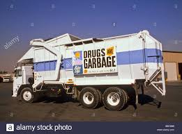 100 Sign Truck Drugs Garbage Trash Say No Health Safety Promotion Sign Truck