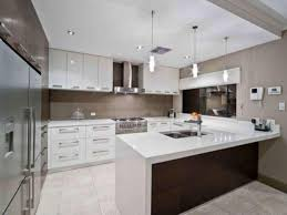 G Shaped Kitchen Layout Advantages And Disadvantages L Shape Island Using Granite Countertop Stone Countertops Mix