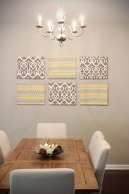 Canvas Wall Art For Dining Room by Fabulous Diy Fabric Covered Canvas Wall Decor Fabric Covered