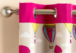 Lined Curtains For Bedroom by Harmony Childrens Bedroom Lined Eyelet Curtains Air Balloon