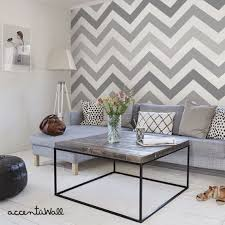 Thinking About Having This Chevron Wallpaper In My Spare Bedroom
