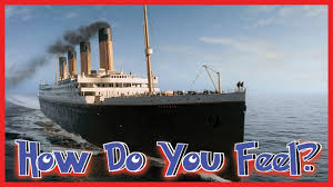 Roblox Rms Olympic Sinking by How Long Would A Raft Last During The Titanic Sinking Youtube