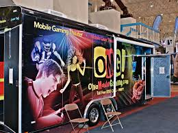 99 Game Party Truck Inflatables Mobile Video Parties Cleveland Akron Canton