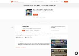 100 Food Truck Apps 2 Alternatives To Space Kickstarter For PC Linux Mac