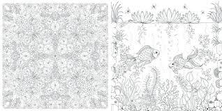Full Image For Secret Garden Coloring Pages Book Colored Pictures