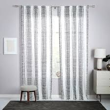 Vertical Striped Curtains Uk by White And Grey Striped Curtains Amazing Elegant Blue And Grey