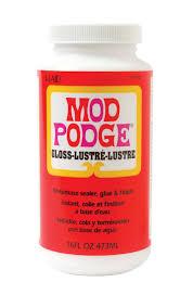100 Hodge Podge Truck Mod Gloss Fast Dry Tissue Glue And Glaze 1 Pint Walmartcom