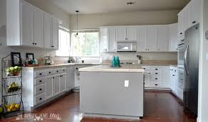 painting kitchen cabinets white with sloan chalk paint