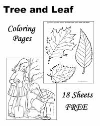 Coloring Pages Of Trees With Leaves 15 Fresh Inspiration Tree Leaf