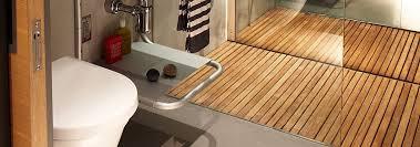 Teak Wood Flooring In Bathroom Designs Floor