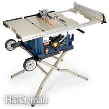 portable table saw reviews u2014 the family handyman
