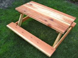 the musings of a nicu mommy diy child u0027s picnic table