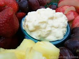 Easy Pineapple Lush Fruit Dip from Kraft Foods Recipe} Finding Zest