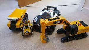 100 Kids Dump Truck Toy Bundled Set Of Scalextrix And CAT