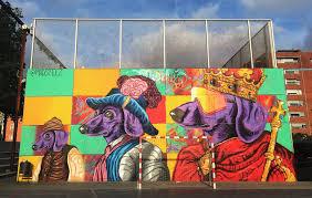 Famous Spanish Mural Artists by As Street Art Turns To Public Art In Barcelona Brooklyn Street Art