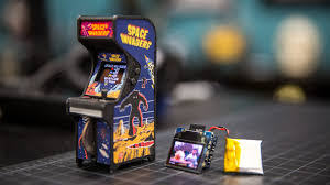 show and tell tiny arcade cabinet youtube