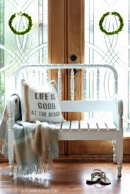Spindle Headboard And Footboard by How To Turn A Spindle Headboard Into A Bench Confessions Of A