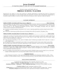 Sample Teacher Resume Example Of High School Fresh Secondary Examples A