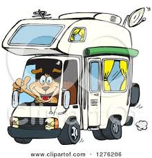 Luxury Cartoon Campervan Pictures Royalty Free Rf Rv Clipart Illustrations Vector