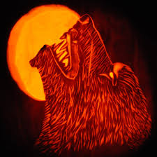 Wolf Pumpkin Carving Patterns Easy by Decorating Ideas Creative Picture Of Decorative Scary Spooky Best
