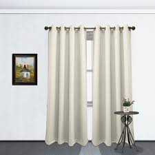 Thermal Curtain Liner Grommet by Black Curtain Color Grommet Blackout Room Panel Soft Thermal