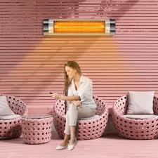 arebos infrarot heizstrahler wärmestrahler infrarotstrahler 2500w silber direkt vom hersteller