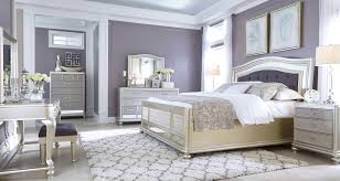 BedroomCaptivating Coralayne Silver Bedroom Set Marlin Bedrooms B Q Captivating Pinterest