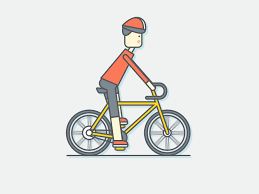 Riding Bike By Egor Kosten