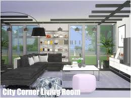 sims 4 cc s the best city corner living room by qoact