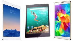 Best tablet iPad Air 2 vs Samsung Galaxy Tab S vs Google Pixel C
