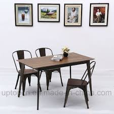 China Industrial Style Metal Restaurant Furniture Set With Wooden ... Korean Style Ding Table Wood Restaurant Tables And Chairs Buy Small Definition Big Lots Ashley Yelp Sets Glamorous Chef 30rd Aged Black Metal Set Ch51090th418cafebqgg 61 Tolix Rectangular Onyx Matt Chair Fniture Side View Stock Vector The Warner Bar In 2019 Fniture Interior Indoors In Vintage Editorial Photography Image Town Quick Restaurant Table Chairs Bar Cafe Snack Window Blurred Bokeh Photo Edit Now