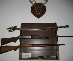 Free Wooden Gun Cabinet Plans by Free Gun Rack Plans How To Build A Gun Rack Wood Projects I