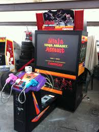 Mame Arcade Cabinet Kit Uk by Namco Ninja Assault Deluxe Arcade Machine Uk Vac Uk Video