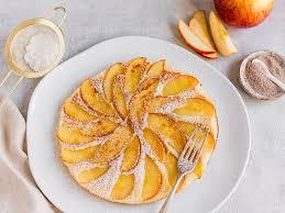 apfelpfannkuchen ohne ei einfaches rezept für die pfanne