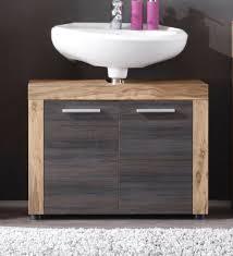 waschbeckenunterschrank waschtisch unterschrank badmöbel nussbaum 70 cm cancun