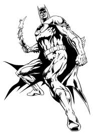 New Batman Free Coloring Pages Letscoloringpages Very Hot Page