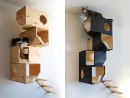 modern cat tower 25 best wooden kung cat condos images on cat condo