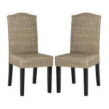 Safavieh Southeast Asia Odette Wicker Dining Chair (Set Of 2 ... Safavieh Lulu Upholstered Ding Chair In Light Brown And Gold Set Terra Midcentury Modern Fabric Of 2 Buy Fox6228eset2 Holloway Oval Side Black Pu Set Safavieh Mcer Collection Carol Taupe Linen Ring Fox6228g Youtube Navy Cushioned Chairs Safaviehcom Abby Sky Blue Reviews Goedekerscom Mcr4604b Lizzie Ding Chair Set Of 80100 A7005aset2 Fniture By White Home Design Ideas Also Interior Decor Market Becall Natural Cream Shop Parsons Becca Zebra Grey On Sale