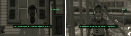 Nuka Cola Quantum Little Lamplight by Fallout 3 Tranquility Lane Dad Fallout 3 Walkthrough