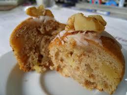 lisacuisine walnuss apfel marzipan muffins