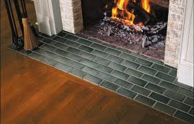 how to tile a hearth this house