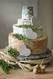 An Alternative Big Day Dessert Consisting Of Four Tiers Delicious Cheese From West Country