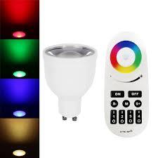 wifi rgb ww color changing gu10 smart bulb torchstar