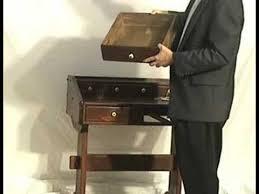 Ethan Allen Dark Pine Roll Top Desk by Antique Pine Desk By Ethan Allen Youtube