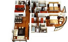 Spectacular Apartment Floor Plans Designs by Two Bedroom Apartment Plans Selection Of 50 Designs That Will
